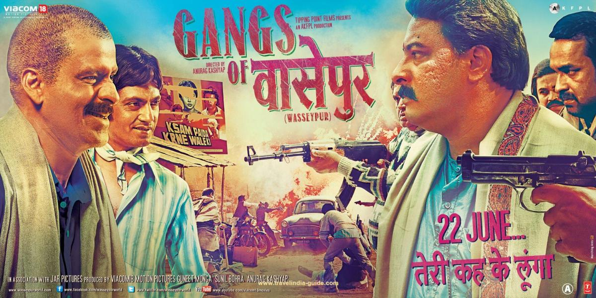 Gangs of Wasseypur (Part 1) directed by Anurag Kashyap