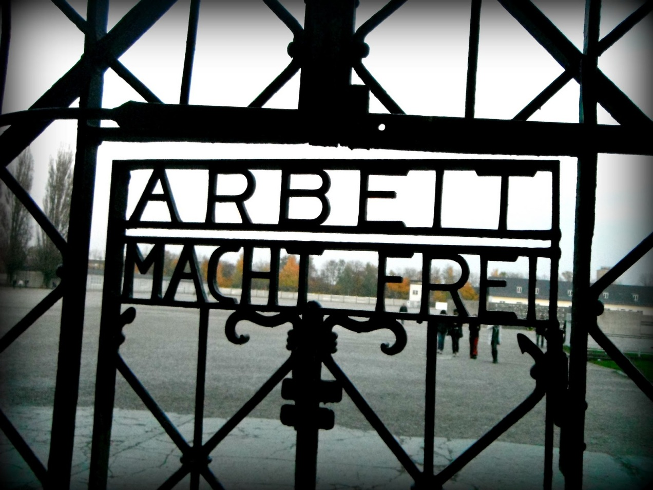 dachau door man's search for meaning